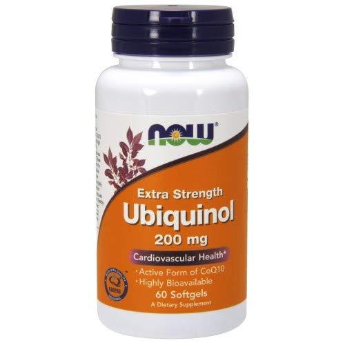 NOW Foods - Fuerza adicional mg 200 de Ubiquinol. - 60Cápsulas blandas