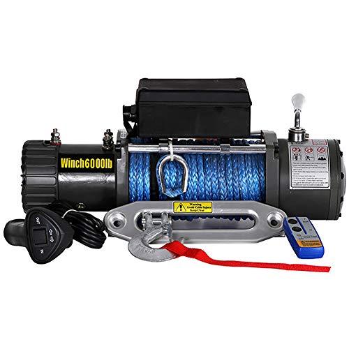 Fantastic Deal! 12V/24V DC 6000-lb. Load Capacity ATV/UTV Electric Winch Kit, Waterproof Electric Wi...