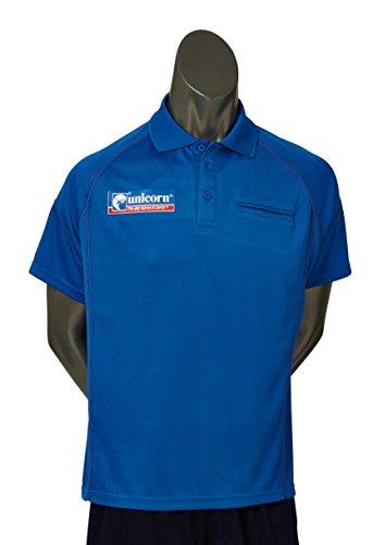 Unicorn Dart Team-Poloshirt, groß, Königsblau