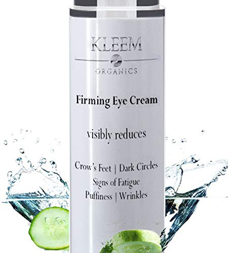 Anti Aging Eye Cream for Dark Circles and Puffiness that Reduces Eye Bags, Crow's Feet, Fine Lines, and Sagginess in JUST 6 WEEKS. The Most Effective Under Eye Cream for Wrinkles (0.51 fl.oz)
