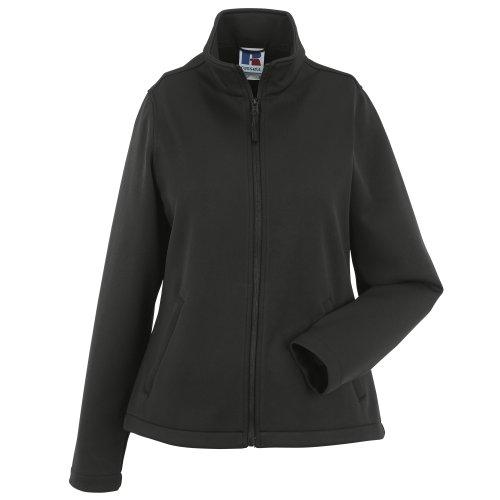 Russell Damen Smart Softshell-Jacke (2XL) (schwarz)