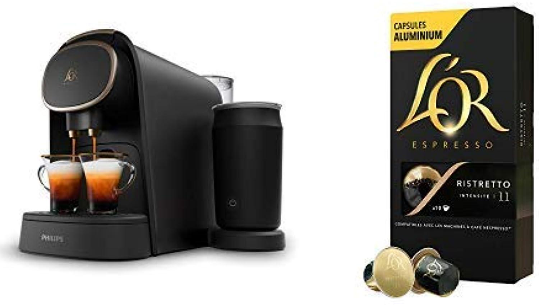 disfruta ahorrando 30-50% de descuento Philips L'OR Barista Barista Barista LM8018 90 + L'Or Café Ristretto 5 paquetes de 10 cápsulas  venta al por mayor barato