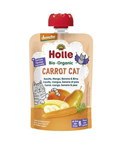 Holle Smoothie Carrot Cat Zanahoria, Mango, Plátano Y Pera