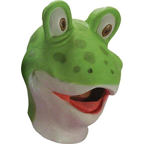 Carnival Toys 963 - masker kikker, groen