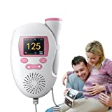 Doppler Fetal Monitor Heartbeat Pregnancy First Time Mom Gift , Home use