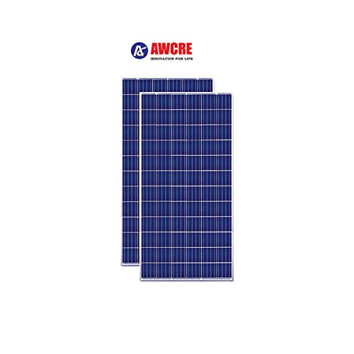 AWCRE- 330W, 24V Polycrystalline Solar Panel - Pack of 2