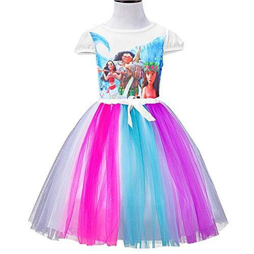 HPPLDress Kerst Kind Jurk Meisje Kostuum Meisje Prinses Jurk Kind Verjaardag Feestjurk Roze