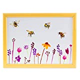 Lap Tray Pretty Water Colour Busy Bees Design by Jennifer Rose Gallery