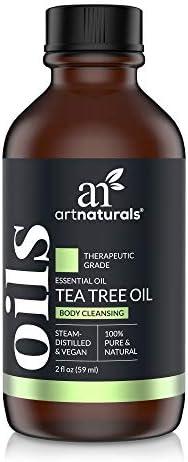 Artnaturals Tea Tree Essential Oil 2oz 100 Pure Oil Premium Melaleuca Therapeutic Grade Best product image