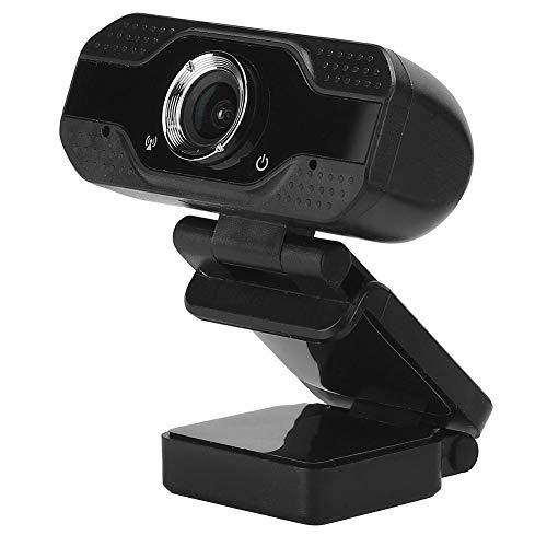 Socobeta Webcam PC Clase en línea Plug and Play Computadora Cámara 3D Denoising Universal con micrófono