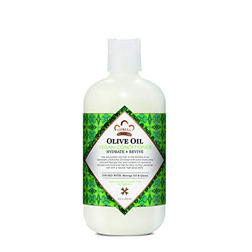 Nubian Heritage Conditioner for Dry Hair Olive Oil that Nourishes For Healthy and Hydrated Hair 12 oz