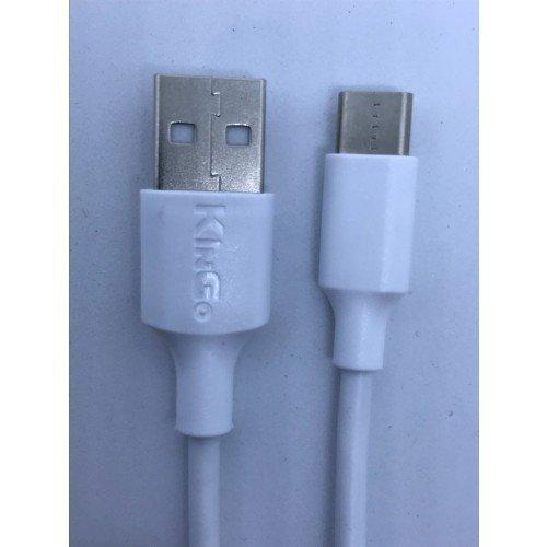 Cabo USB-C com 2 Metros carga rapida Galaxy S8 S9 Note 8 Zenfone 4 Moto X4