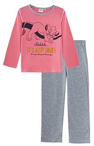 Pyjama à Paillettes pour Fille Le Roi Lion