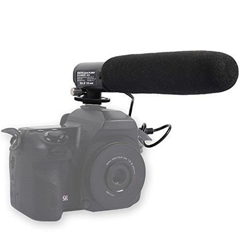 DSLR cámara vídeo videocámara micrófono para Canon EOS M,/1d Mark IV, 7d/6d/5d Mark III/5d Mark II 60d/700d/650d/600d/550d/100d Nikon D4/D3X/D3s/D3D800E/D800/D700/D600/7000/D5100/D5000/D3200Sony A99Pentax K-5/K7/K-01