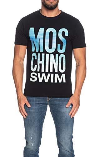 Moschino Uomo T-Shirt Swim Nero MOD. A1911 2319 S