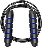 Límite-MX Cuerda para Saltar, Fácilmente Ajustable Manijas Cómodas, Cuerda Ligera y Ajustable Mejor para Entrenamiento...