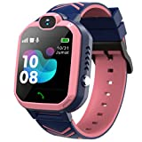Smart Watch for Kids - Kids Smart Watches Girls with Call | 8 Games | SOS | Camera | Music Player | Alarm Clock | Calculator | Album & Video | Recording | for 4-12 Years Girls Birthday Gifts (Pink)