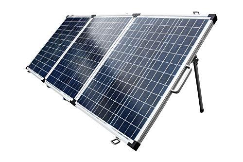 Solarkoffer 150Watt Poly Solarpanel Solarmodul Solar Set