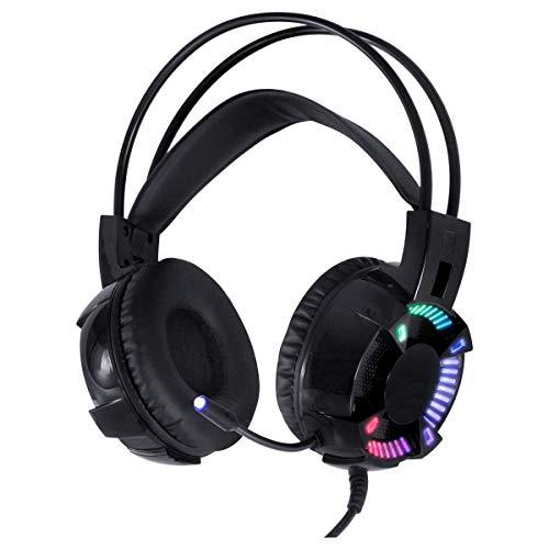 FONE HEADSET GAMER VX GAMING ENYA AUDIO 7.1 LED RGB ESTATICO USB, MICROFONE FLEXIVEL COM SOFTWARE DE AUDIO - GH400, VINIK, 31540