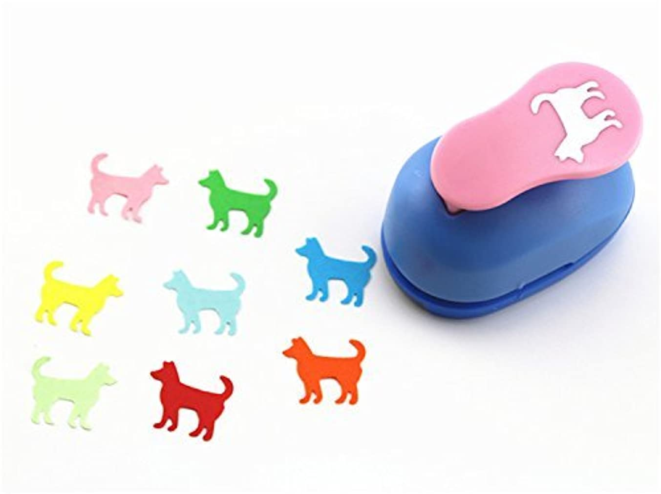 CADY Crafts Punch 2.5 cm paper punches paper punch flower (Dog)