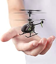 Mini Helicopter,SYMA S100 Cute Super Smaller Aircraft Indoor RC Helicopter with Altitude Hold, LED Lights, Extended Flying Range Remote Control Toy for Adults and Kids, Rechargeable Battery