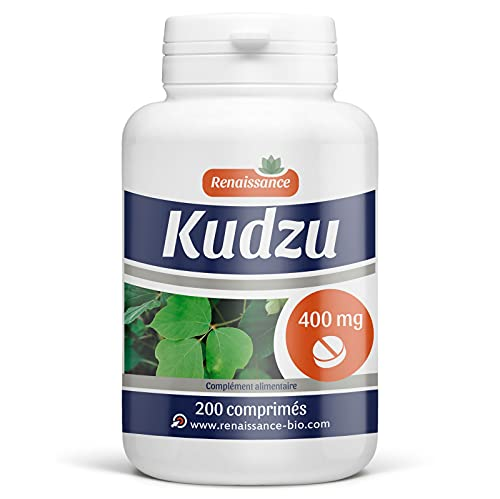 Kudzu 200 comprimés dosés à 400mg