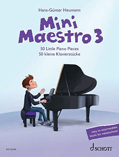Mini Maestro 3: 50 Little Piano Pieces (English Edition)