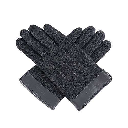ZXC Home handschoenen van warme wol voor buiten, elastisch, winddicht en fluweel, Winter Riding Pattino-Prova, 3 optionele kleuren