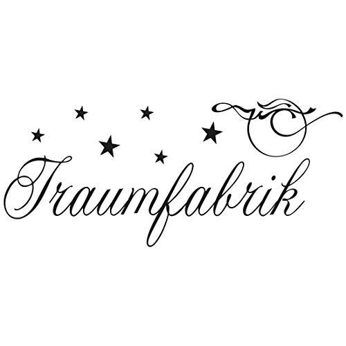 Wandtattoo Traumfabrik L - 100cm x 43cm - Duvar Tattoo - 23 mögliche Farben