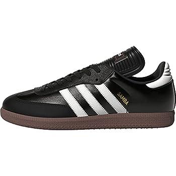 adidas Men s Samba Classic Soccer Shoe,Black/Running White,9 M US