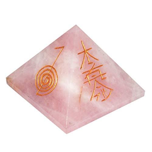 SHIVANSH CREATIONS Healing Crystals Chakra Stones Quartz Pyramid, Reiki...