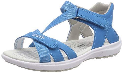 Superfit Mädchen Rainbow Sandalen, Blau (Blau 80), 35 EU