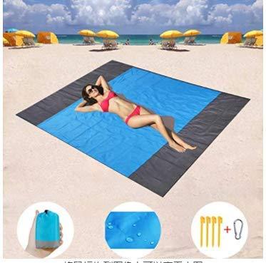 Manta de Picnic de 208 x 200 cm, Manta de Playa, Toalla de P