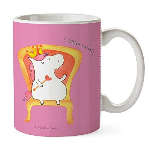 Mr. & Mrs. Panda thee, kantoor, beker Eenhoornkoning - Kleur Glitter roze