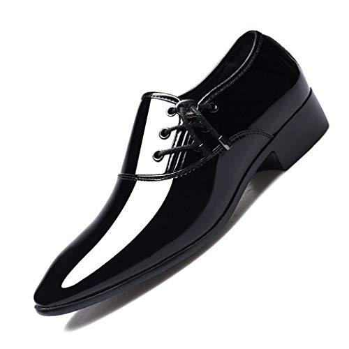 HYDKU Zapatos De Vestir For Hombres De Moda De Cuero Zapatos De...