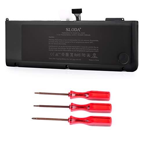 SLODA Nouveau Batterie Ordinateur Portable de Remplacement pour Apple MacBook Pro 15\
