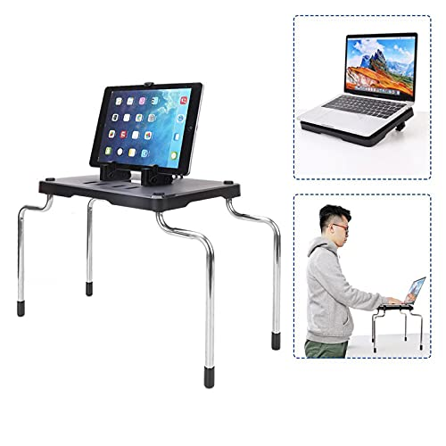 LAHappy Soporte para Tablet, 3 En 1 Soporte para Tableta/Teléfono Inteligente/Computadora Portátil Soporte Perezoso Universal, Soporte, Base