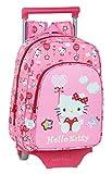 safta Mochila Infantil de Hello Kitty Balloon con Carro 705, 260x110x340mm