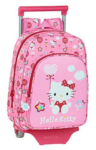 Zaino Safta per bambini di Hello Kitty con carrello Safta 705, 260 x 110 x 340 mm