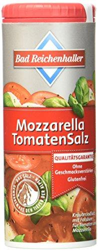Bad Reichenhaller Mozzarella Tomate Salz, 8er Pack (8 x 90 g Dose)