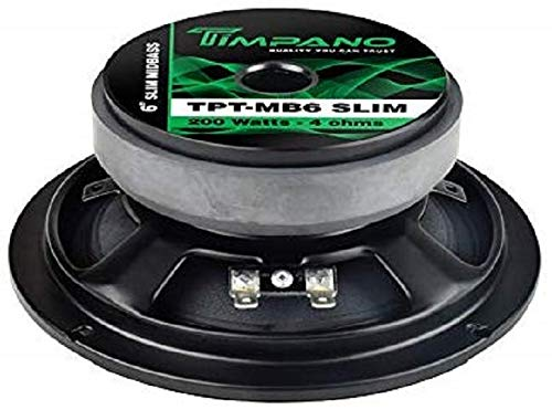 "Timpano TPT-MB6 Slim 6.5"" Mid Bass Loudspeaker"