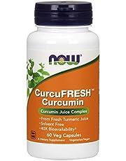 Now Curcufresh Curcumina Supplemento 60 Capsule - 60 g