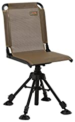 Sturdy powder-coated steel frame for ultimate support Adjustable Seat height, adjustable/removable arm rests, wide backrest and 360° swivel seat gives you maximum comfort Large swivel feet with independently adjusting legs accommodates uneven Terrain...