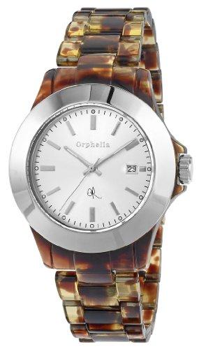 Orphelia Damen-Armbanduhr Wild Life Analog Quarz Plastik