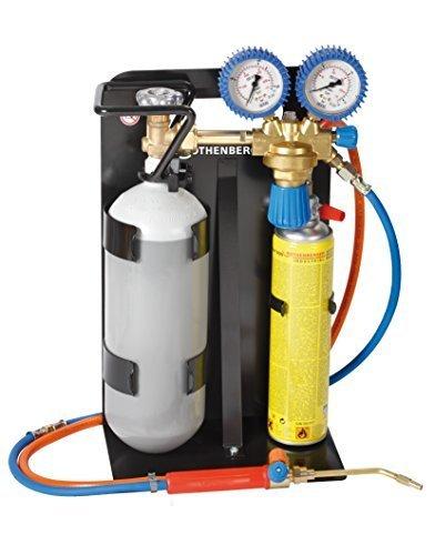 Rothenberger Industrial - Roxy 400 L - Autogenschweißgerät / Hartlötgerät - inklusive Gas & Sauerstoffbehälter - 35780