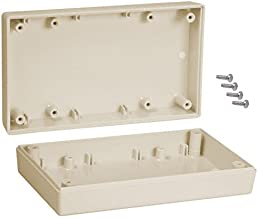 5-5//8 Length x 3-1//4 Width x 2-1//2 Height Serpac 153 ABS Plastic Enclosure Almond