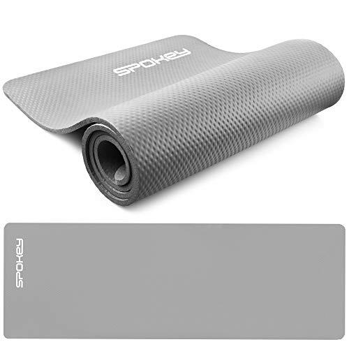 SPOKEY Softmat, tappetino per esercizi, 180 x 60 x 1,5 cm, in schiuma NBR extra spessa, antiscivolo, stabilizzante e sicuro, per yoga, pilates, fitness e ginnastica, riabilitazione e fisioterapia.