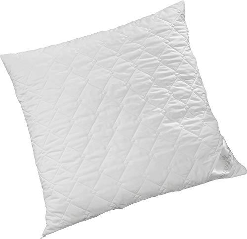 Brinkhaus-Silvercrown Kissen Komfort Plus Faserkügelchen weiß Größe 80x80 cm