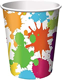 Creative Converting Devotion Cross Hot Or Cold Beverage Cups, 8 Count, Multicolor, One Size