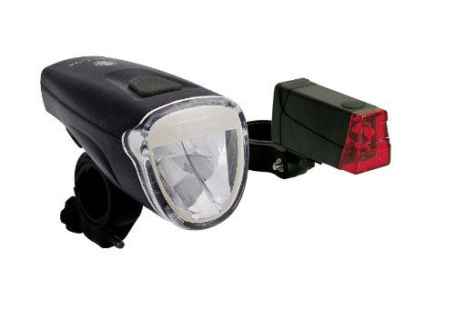 Büchel Batterieleuchtenset Tri Lux Mini LED, 10,23 x 5,16 x 5,16 cm, schwarz, 51125485